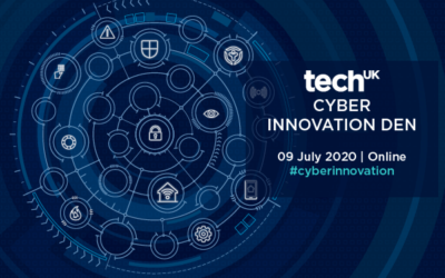 We're finalists in techUK's Cyber Innovator of the Year