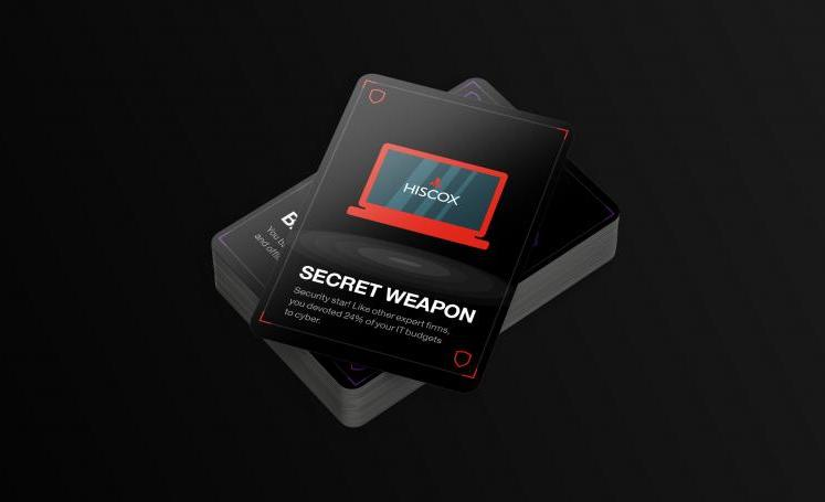 Hiscox has launched a card game to help businesses learn about cyber readiness